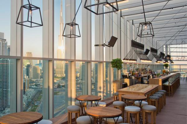 Bar Atap Di Dubai